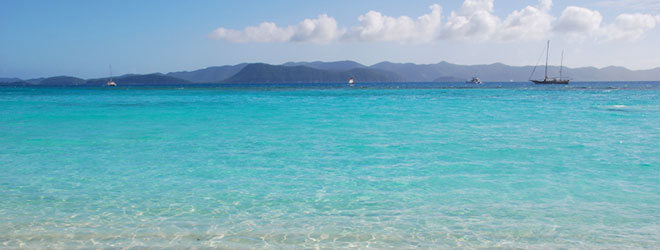 White Bay Beach in the British Virgin Islands made the top 50 list.