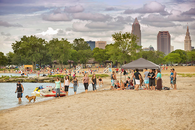 urban beaches in the US