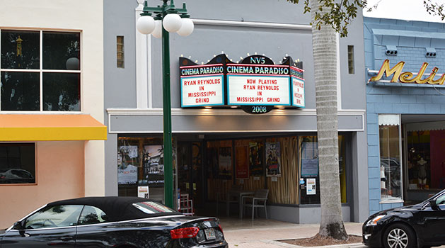 Attractions in Hollywood Beach - Cinema Paradiso