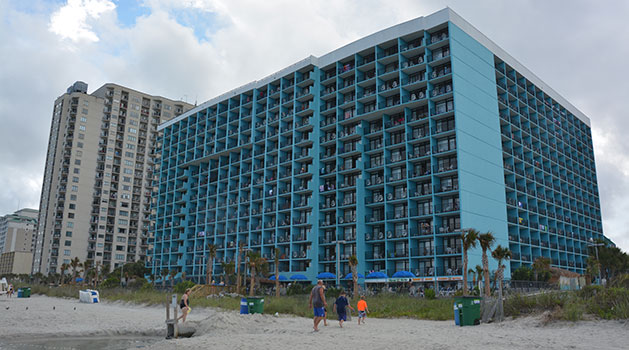 Myrtle Beach hotels with water parks